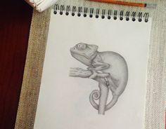 "Consulta mi proyecto @Behance: ""Dibujo camaleón"" https://www.behance.net/gallery/45177889/Dibujo-camaleon"