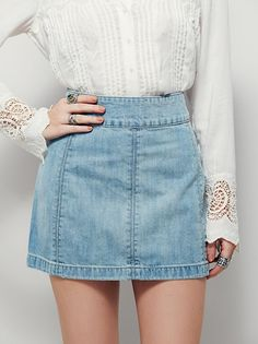 Skirts for Women | Free People. View the whole collection, share styles with FP Me, and read & post reviews.