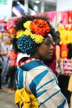 At Hyper Japan London Uber Dandy Kimono Traditional Japanese Kimono, Modern Kimono, Yukata Kimono, Fantasy Gowns, Boho Life, Doll Costume, Japanese Street Fashion, Japanese Outfits, African Fashion Dresses