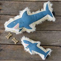 Harry Barker Shark Dog Toy