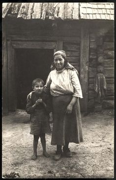 Salakas, Lithuania, A woman and her son. Both murdered by nazis