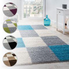 Unsere Shaggy Teppiche Sind In Trendigen Farben Und Mustern Erhältlich Und  Eignen Sich Hervorragend Das Schlaf
