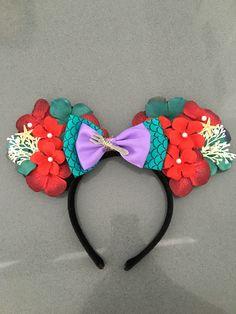 Little mermaid Mickey ears