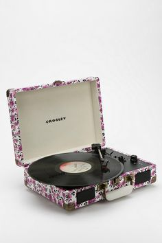 Crosley Cruiser Printed Briefcase Turntable