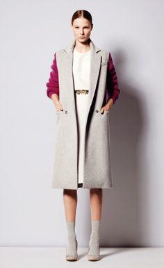 Sophie Hulme - love the pink sleeves