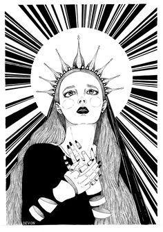 "Art by Devon ""Sister of mercy"""