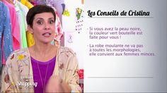 Cristina Cordula nous retrouve pour livrer son astuce du jour. Aujourd'hui, la styliste nous parle des robes moulantes. Selon elle, seules les filles minces peuvent se permettre de les porter ! Retrouvez Les reines du shopping sur M6.