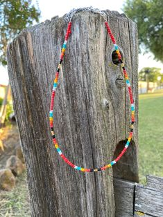 Beaded Choker Necklace, Seed Bead Necklace, Seed Bead Jewelry, Diy Necklace, Necklace Designs, Beaded Jewelry, Beaded Bracelets, Necklace Ideas, Craft Jewelry