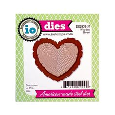 Craft Dies Heart x3 Piece Nesting Set Die Cutter