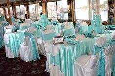 LOVE the table cloths & chairs.