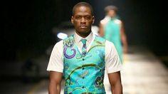 #Menswear #Trends David Tlale Spring Summer 2014 Primavera Verano #Tendencias #Moda Hombre