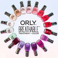 Orly Breathable Treatment   Color Fall 2016