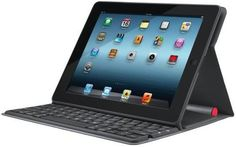 Solar-Powered iPad Keyboard Case