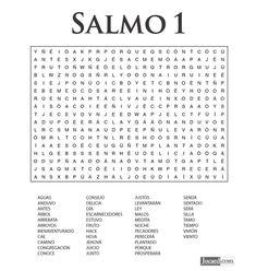 Sopa de Letras - Salmo Cápitulo 1