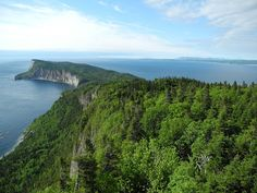 Top of the Mont Saint-Alban - Gaspesie, Canada