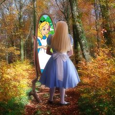 Through The Looking Glass Alice