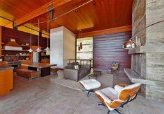 Salas – Pode ser usado na parede ou no piso. O contraste com a madeira e outros materiais rústicos fica lindo!