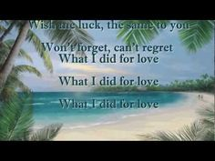 ▶ What I Did For Love ~ Johnny Mathis (HD) - YouTube