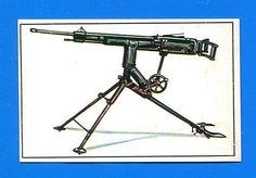 ARMI E SOLDATI - Edis 71 - Figurina-Sticker n. 326 - MITRAGLIATRICE -Rec