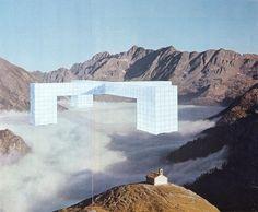 Superstudio , monumento continuo 1969-70