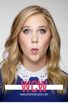 PhatSkinnyChic TM Celebrating  PHAT & CURVY Women: Woman Crush Wednesday: Amy Schumer