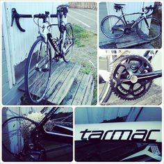 My new #Specialized Tarmac SL4 Comp #Ultegra 2014. Loving it!