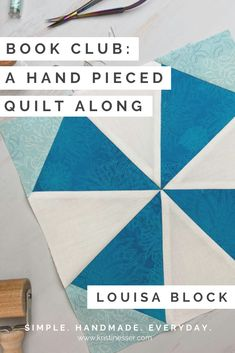 Book Club QAL: Louisa Block - Simple. Handmade. Everyday.