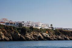 Costa Algarvia vista do mar