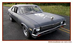 "This will be the ' 70 Nova Stuntman Mike drove in the movie ""Death Proof"". Description from modelcarsmag.com. I searched for this on bing.com/images"