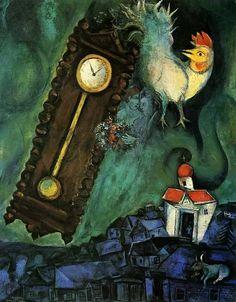 """Marc Chagall. """"Le matin du monde"""" 1946  Oil on canvas"""