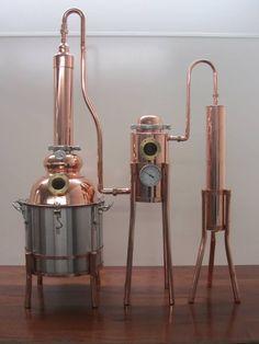 Moonshine Still Plans, Copper Moonshine Still, Gin Distillery, Brewery, Home Distilling, Whiskey Still, Copper Pot Still, Home Brewing Equipment, Homemade Liquor