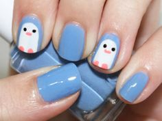 """Squee! I'd probably do it with black, to make more """"traditional"""" penguins, but that is simply adorable!!"""