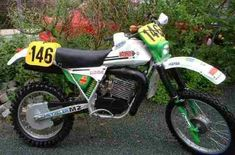 Enduro Vintage, Vintage Motocross, Old Motorcycles, Dirt Biking, Mopeds, All Cars, Cool Bikes, Rally, Motorbikes