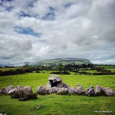 The remains of a Neolithic tomb at Carrowmore, Co Sligo. It's over 5000 years…