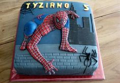 Spiderman Cake Ideas for Little Super Heroes - Novelty Birthday Cakes Superhero Theme Party, Superhero Birthday Cake, Novelty Birthday Cakes, Novelty Cakes, Spiderman Torte, Spiderman Cake Topper, Batman Cakes, Character Cakes, Cakes For Boys