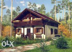 Каркасные дома это быстро возводимые дома!!! Киев - изображение 1 Libby Montana, Montana Homes, Cabin, House Styles, Home Decor, Decoration Home, Room Decor, Cabins, Cottage