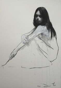 Mark Demsteader – Holly seated 1 – pastel and collage 88 x 115 cm – vendu Mark Demsteader, Drawing Sketches, Art Drawings, Figure Drawings, Art Gallery Paris, Anatomy For Artists, Drawing Studies, Galerie D'art, Prince
