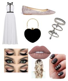 """""""Prom ✨👗"""" by nariviahoyos on Polyvore featuring beauty, Nicole Miller, Jimmy Choo and Miss Selfridge"""