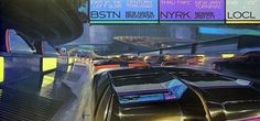 Album of 50 high res pics by Syd Mead, visual futurist (famous for his designs on Blade Runner, Aliens, and Tron, among other things). Blade Runner, Aliens, Syd Mead, Futuristic Art, Futuristic Architecture, Grid Design, Graphic Design, Sci Fi Art, Looks Cool