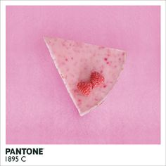 Raspberry Lime Cheesecake Recipe: Pantone 1895 C by Ani Tzenkova #Cheesecake #Raspberry #Lime
