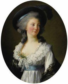 Elisabeth Vigée-Lebrun, La Comtesse de Moreton, 1782.
