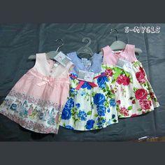Sleeveless button cotton girls casual dresses printed dress patterns contact:moon01@moonyao.com  #GirlClothing #KidsClothing #GirlDress #KidsDress