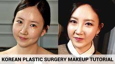 Korean Plastic Surgery Makeup Tutorial