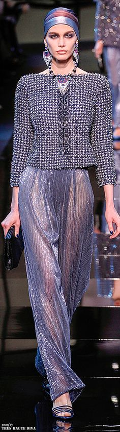 Giorgio Armani Privé Couture Spring 2014 | The House of Beccaria
