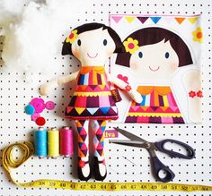 Hey, I found this really awesome Etsy listing at https://www.etsy.com/ca/listing/214296129/craft-plush-doll-kit-make-your-own-diy