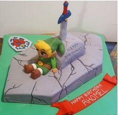 Cool Legend of Zelda Birthday Cake on Global Geek News.