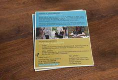 Brochure Design Marketing Materials, Printed Materials, Brochure Design, Layout Design, Typography, House Design, Concept, Graphic Design, Education