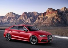 The CLA competitor: Audi S3 Saloon. The hot premium compact segment gets hotter.