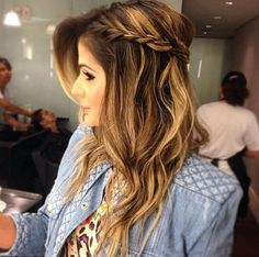54 easy formal hairstyles for long hair 53 Formal Hairstyles For Long Hair, Pretty Hairstyles, Easy Hairstyles, Wedding Hairstyles, Long Hair Styles, Hair Photo, How To Make Hair, Hair Day, Gorgeous Hair