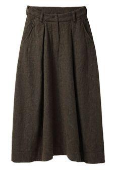 Forme d'Expression / Round Cargo Skirt | La Garçonne